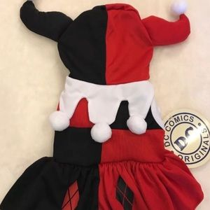 ♠️ HARLEY QUINN DOGGY OUTFIT SIZE SMALL